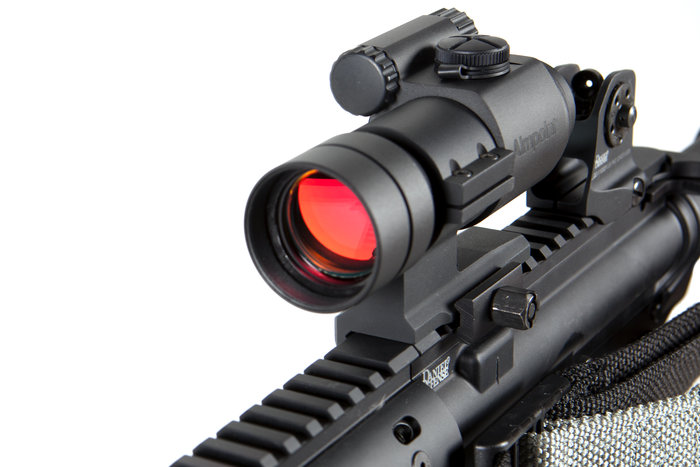 Stock image of an aimpoint aco mounted